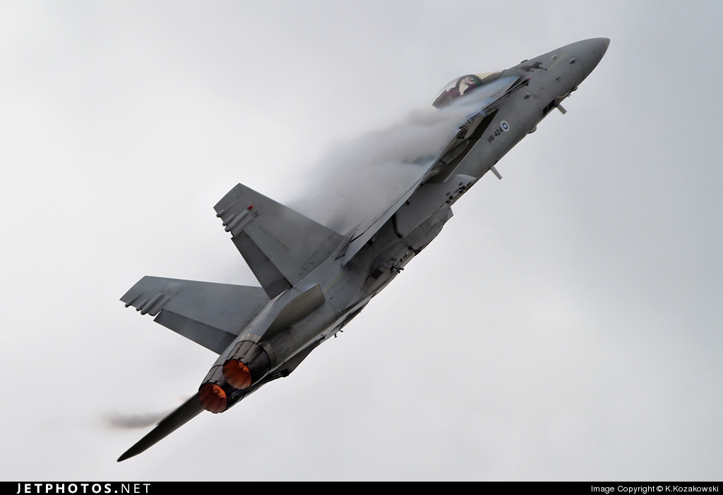 HN-424 - McDonnell Douglas F-18C Hornet - Finland - Air Force