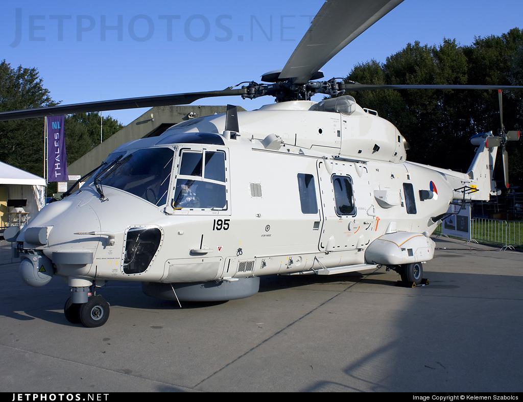 N-195 - NH Industries NH-90NFH - Netherlands - Navy