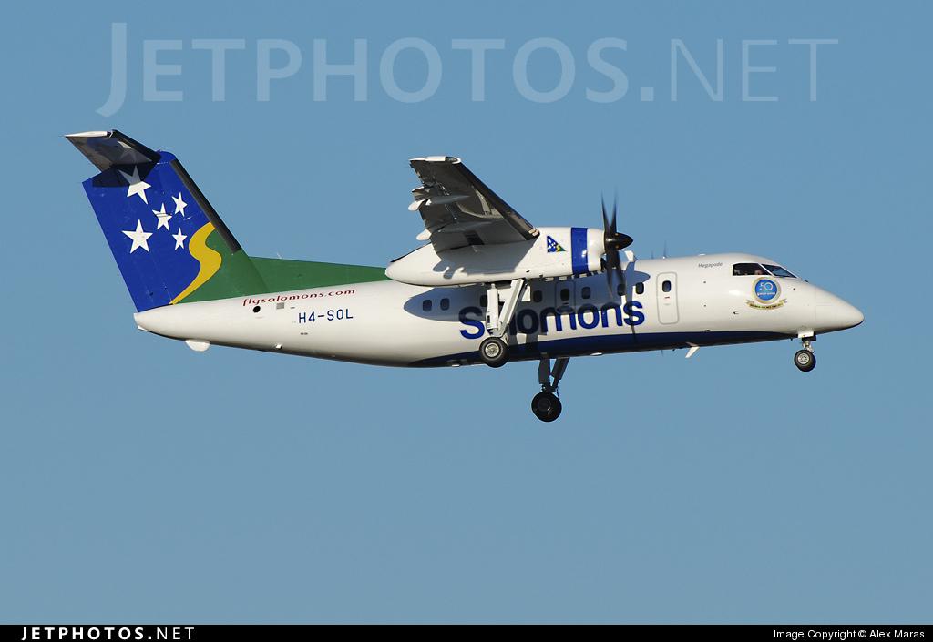 H4-SOL - Bombardier Dash 8-102A - Solomon Airlines