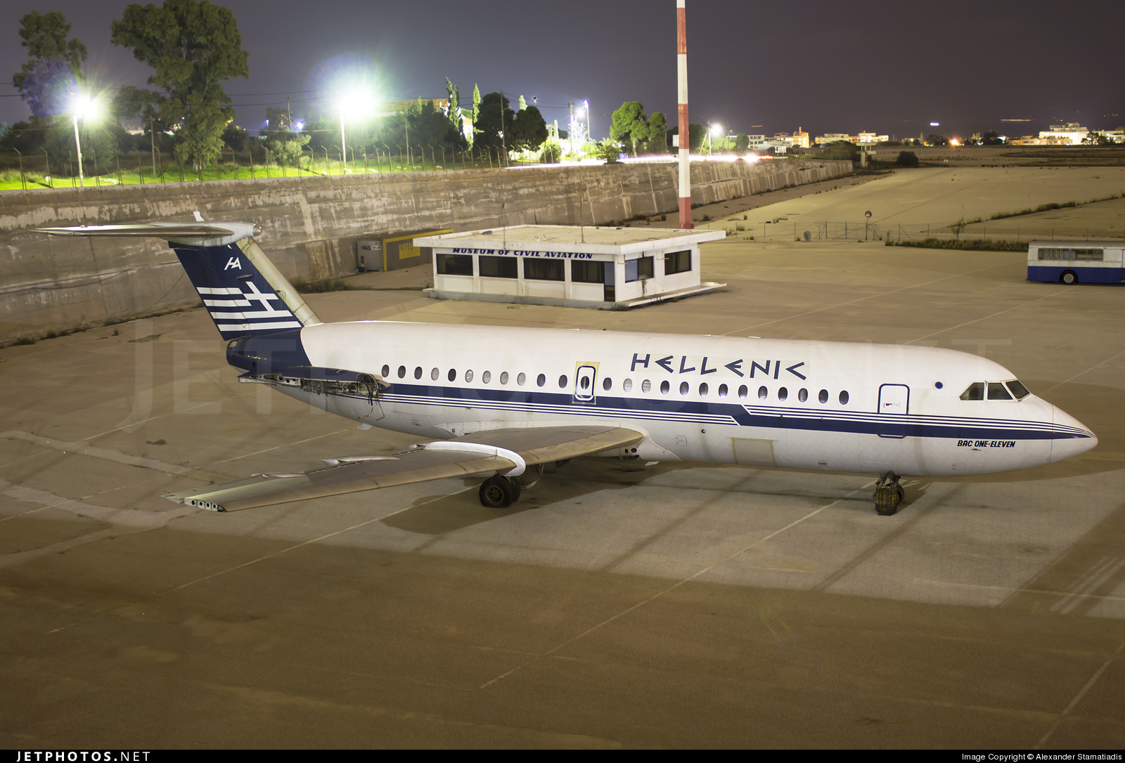 SX-BAR - British Aircraft Corporation BAC 1-11 Series 215AU - Hellenic Airlines