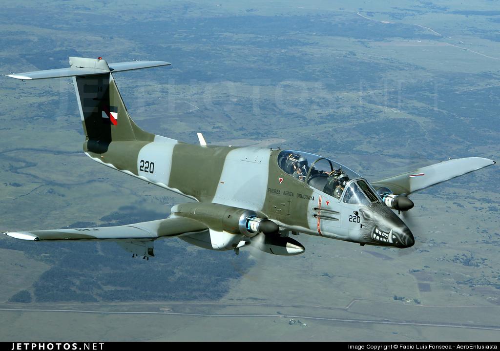 FAU220 - FMA IA-58A Pucará - Uruguay - Air Force
