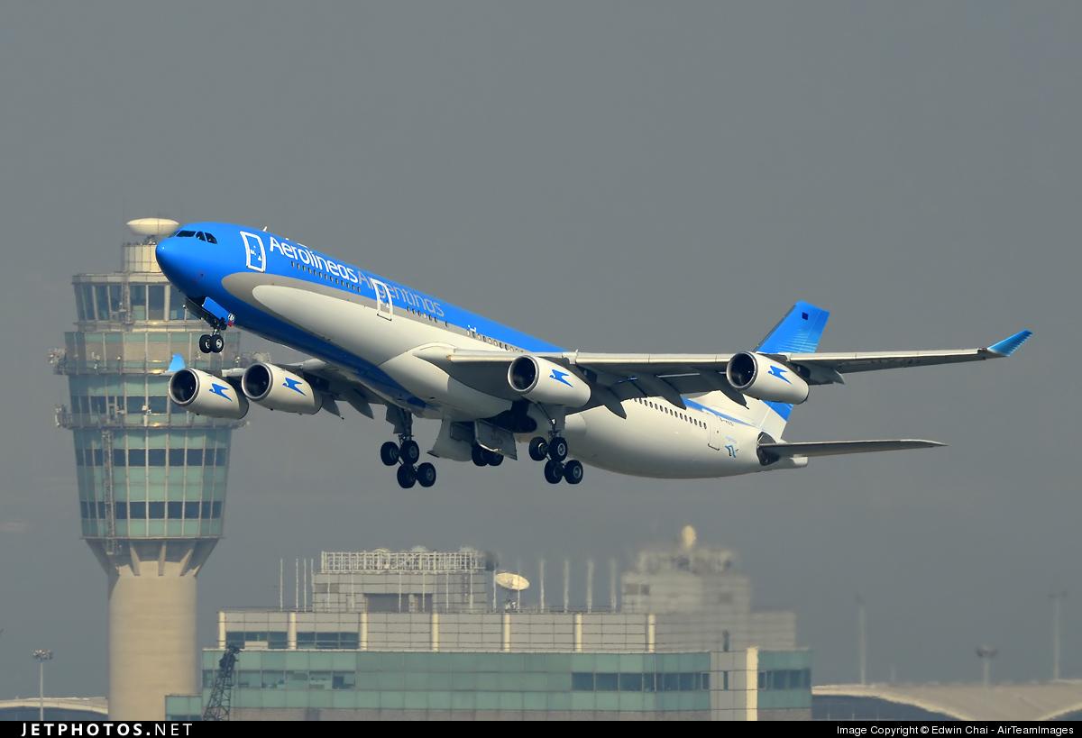 B-HXO - Airbus A340-313X - Aerolíneas Argentinas