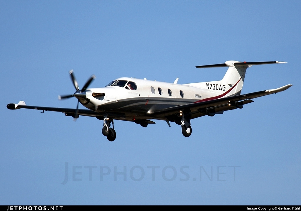 N730AG - Pilatus PC-12/47E - Private