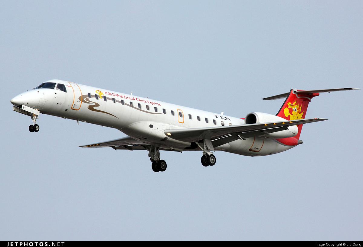 B-3081 - Embraer ERJ-145LI - Grand China Express