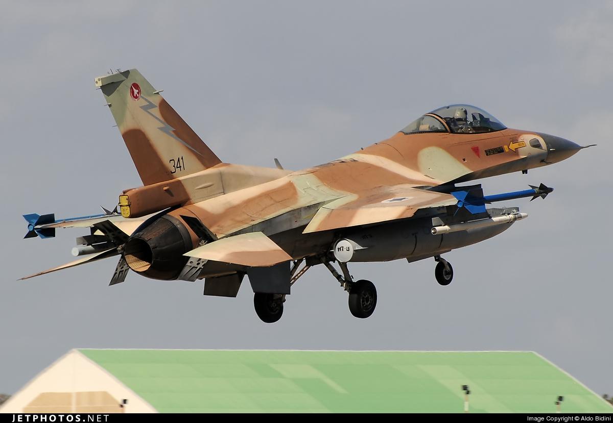 341 - Lockheed Martin F-16C Barak - Israel - Air Force