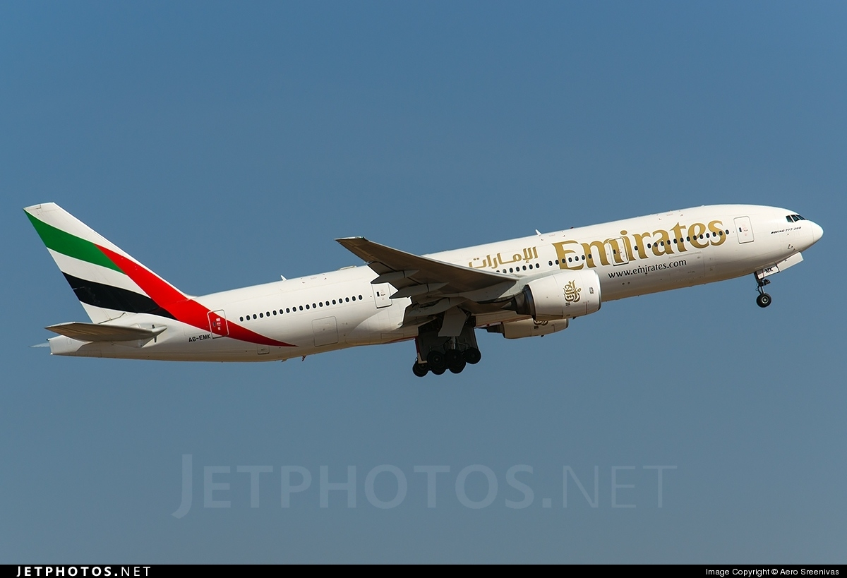 A6-EMK - Boeing 777-21H - Emirates