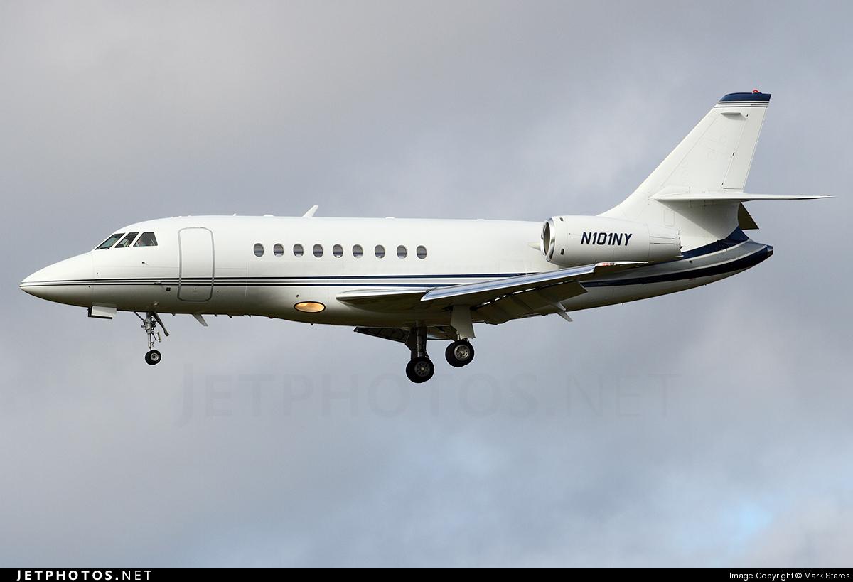 N101NY - Dassault Falcon 2000 - Private