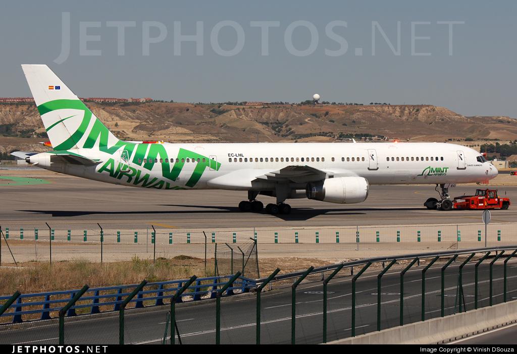 EC-LHL - Boeing 757-28A - Mint Airways