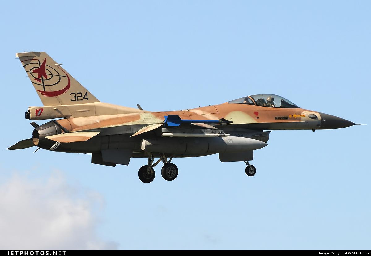 324 - Lockheed Martin F-16C Barak - Israel - Air Force