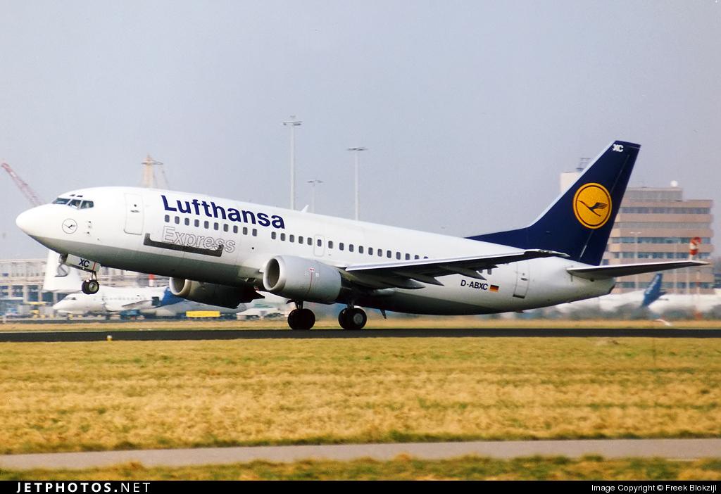 D-ABXC - Boeing 737-330(QC) - Lufthansa Express