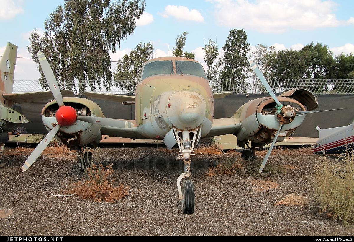 112 - Beechcraft 65-B80 Zamir - Israel - Air Force