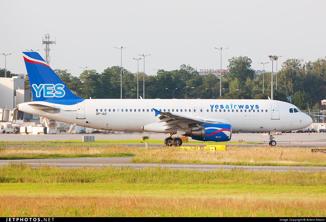 SP-IAC - Airbus A320-214 - Yes Airways