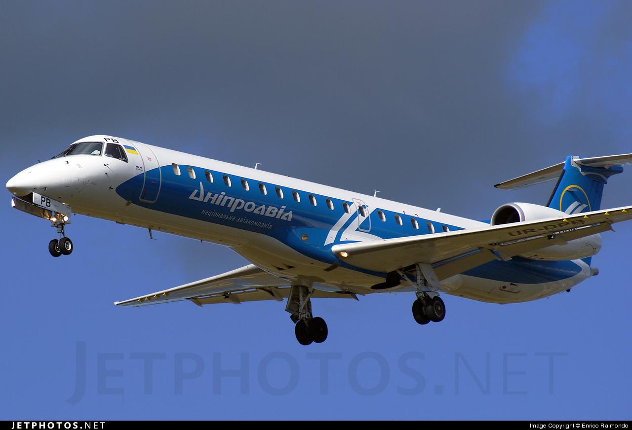 UR-DPB - Embraer ERJ-145LR - Dniproavia