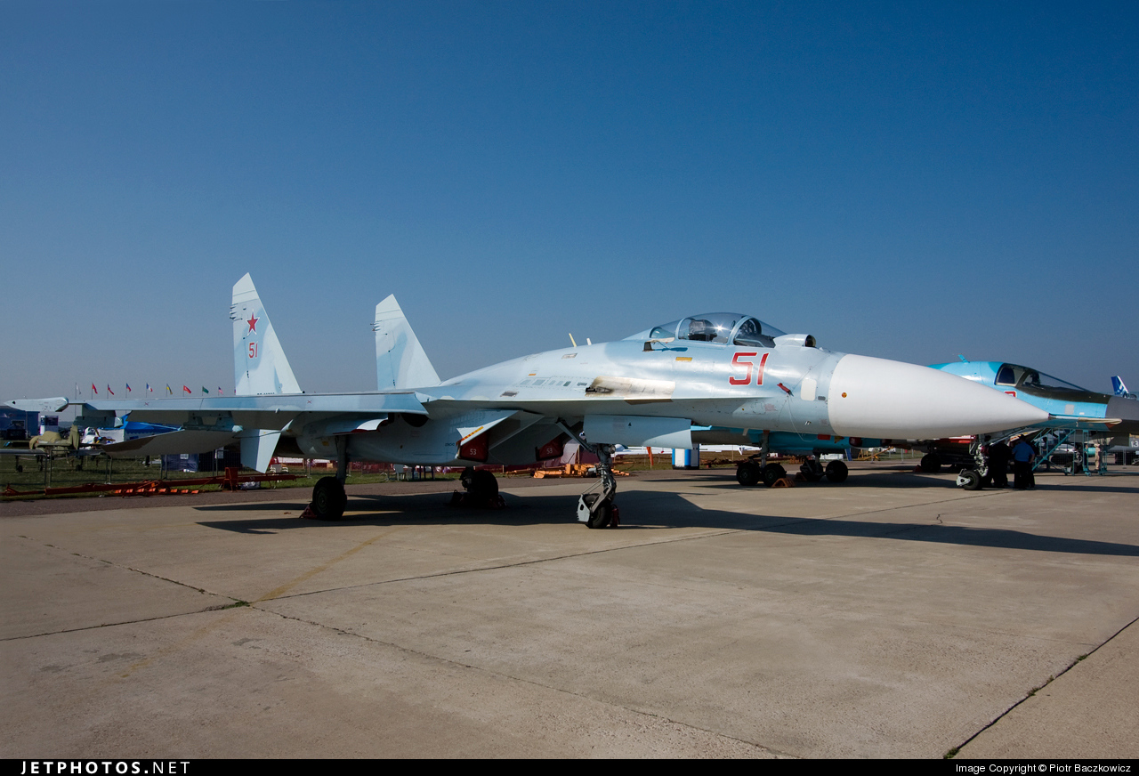 51 - Sukhoi Su-27 Flanker - Russia - Air Force