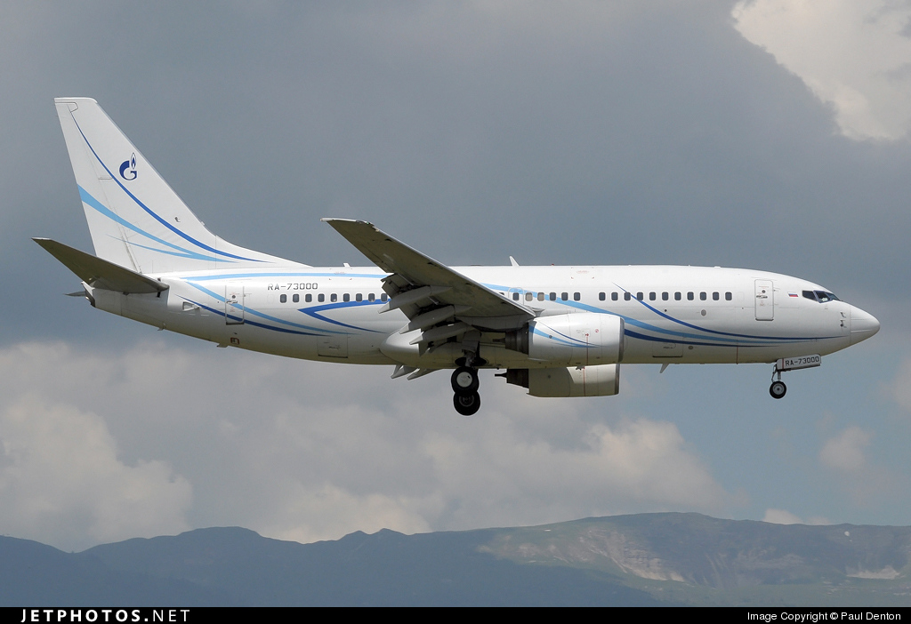 RA-73000 - Boeing 737-76N - Gazpromavia