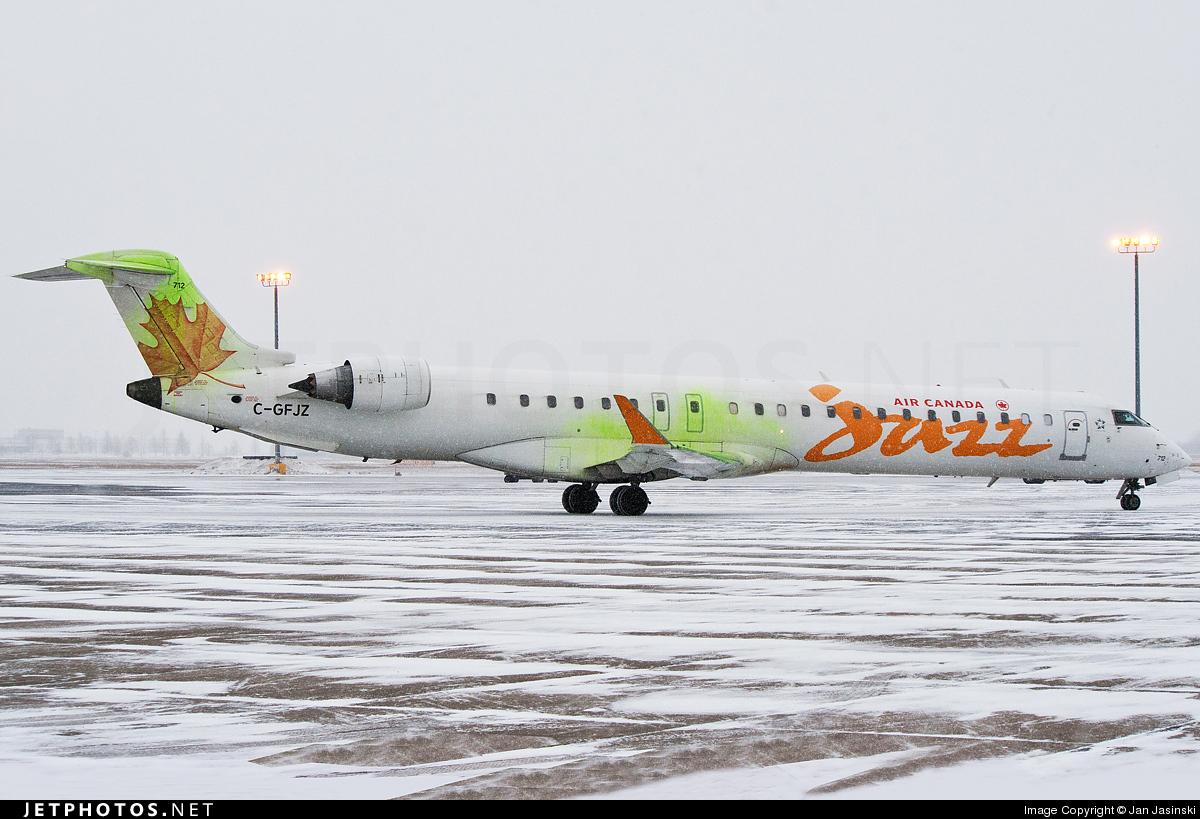 C-GFJZ - Bombardier CRJ-705LR - Air Canada Jazz