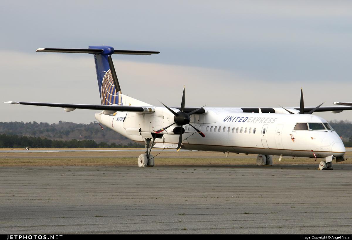 N190WQ - Bombardier Dash 8-Q402 - United Express (Colgan Air)