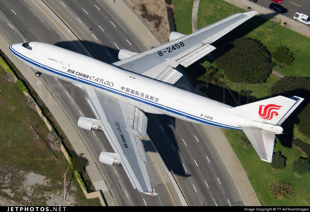 B-2458 - Boeing 747-4J6(BCF) - Air China Cargo
