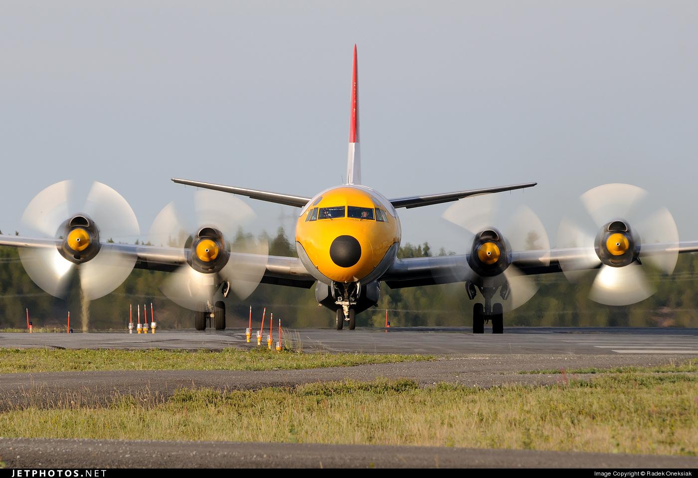C-FDTH - Lockheed L-188A(F) Electra - Air Spray