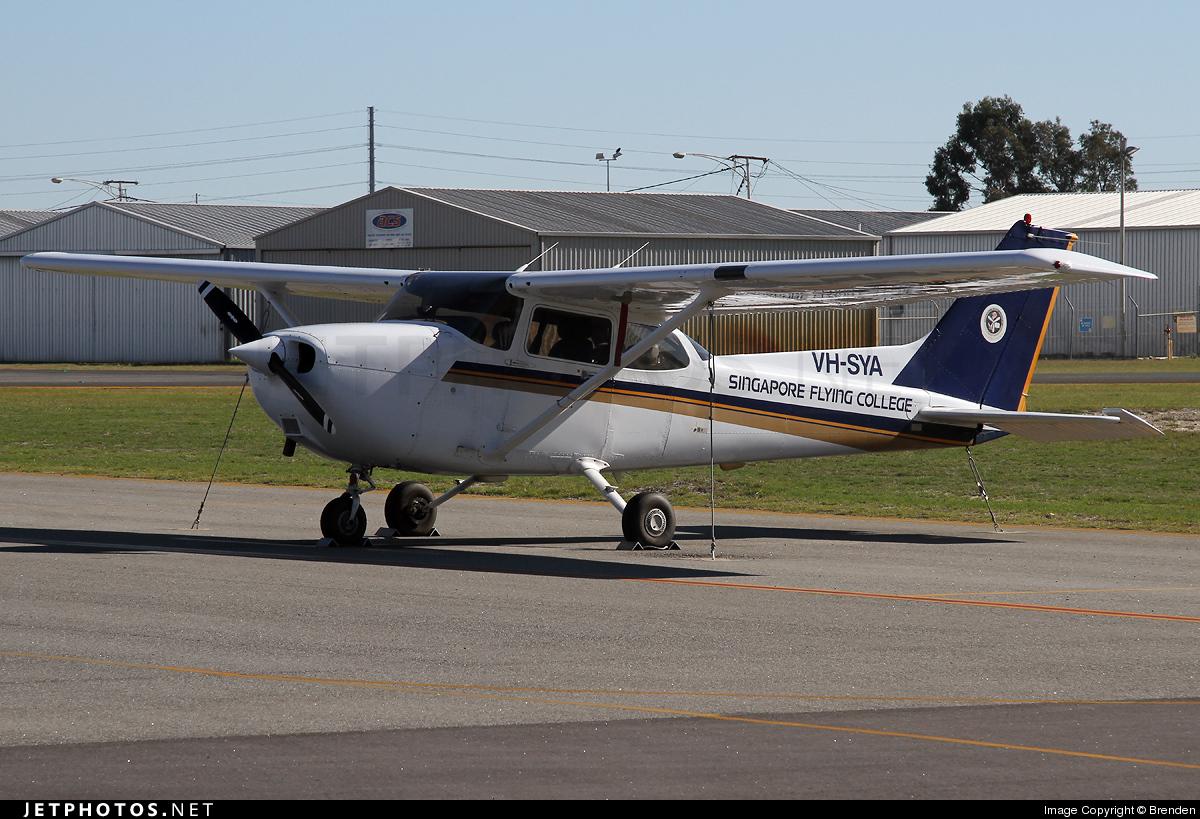 VH-SYA - Cessna 172R Skyhawk II - Singapore Flying College
