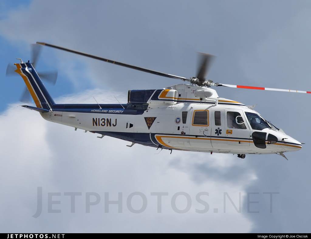 N13NJ - Sikorsky S-76B - United States - New Jersey State Police