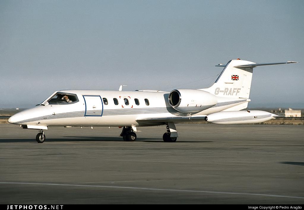 G-RAFF - Gates Learjet 35A - Private