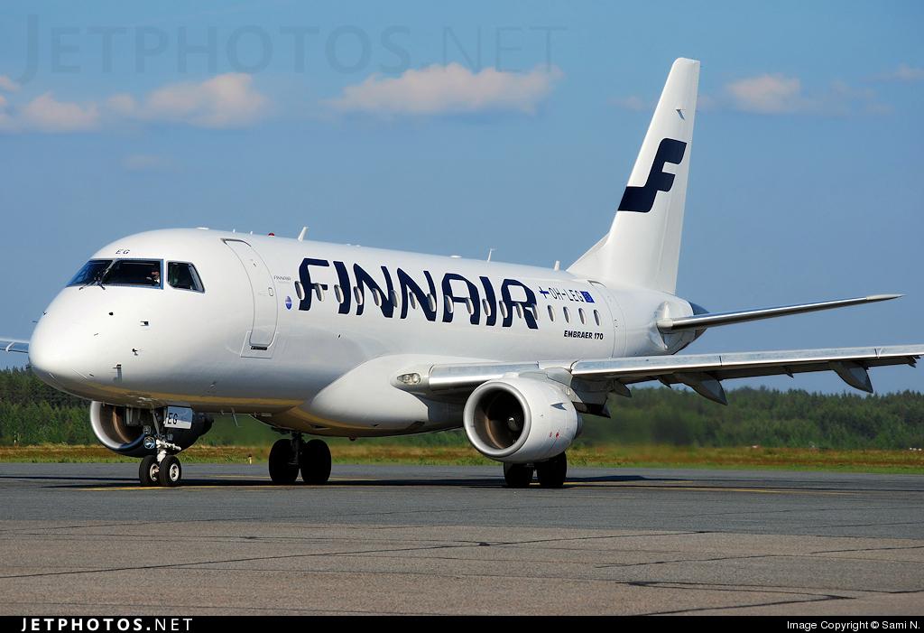 OH-LEG - Embraer 170-100LR - Finnair