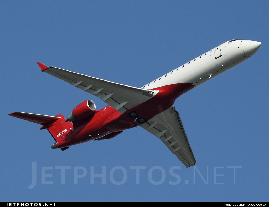 N872DC - Bombardier CL-600-2C10 Challenger 870 - Private