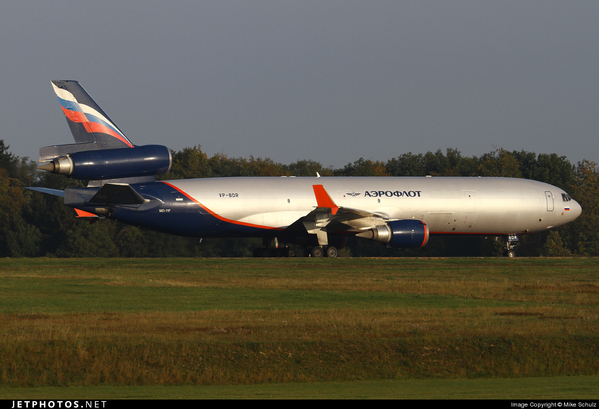 VP-BDR - McDonnell Douglas MD-11(F) - Aeroflot