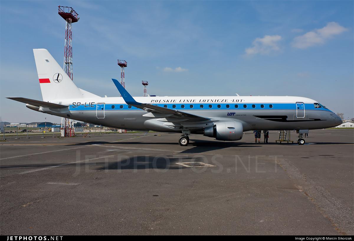 SP-LIE - Embraer 170-200STD - LOT Polish Airlines