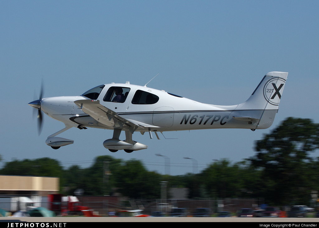 N617PC - Cirrus SR22T - Private