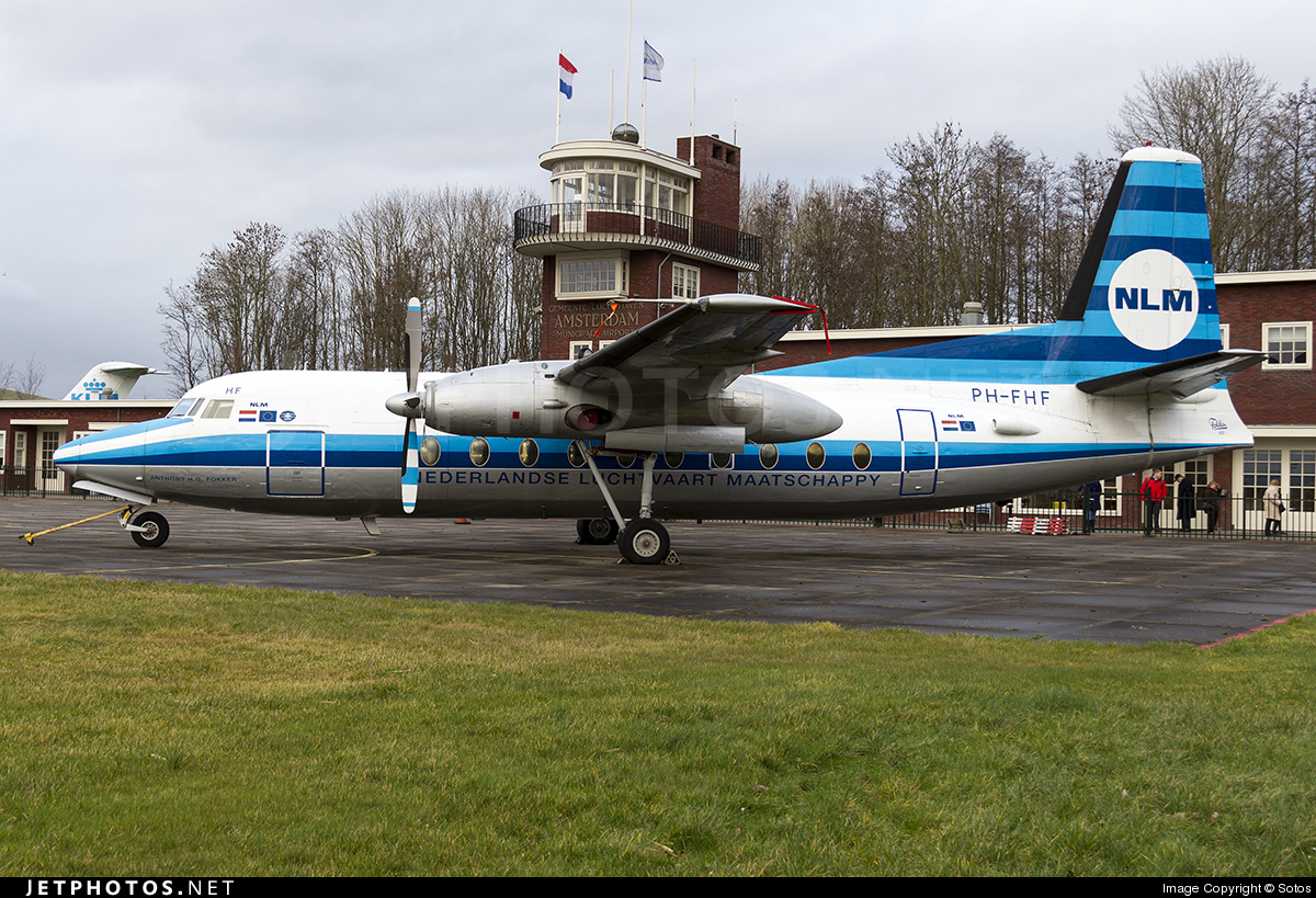 PH-FHF - Fokker F27-100 Friendship - Fokker Heritage Flight