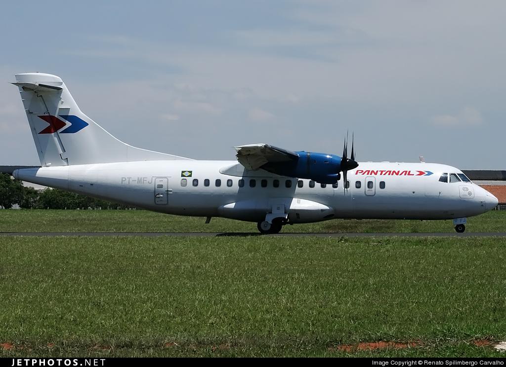 PT-MFJ - ATR 42-320 - Pantanal Linhas Aéreas