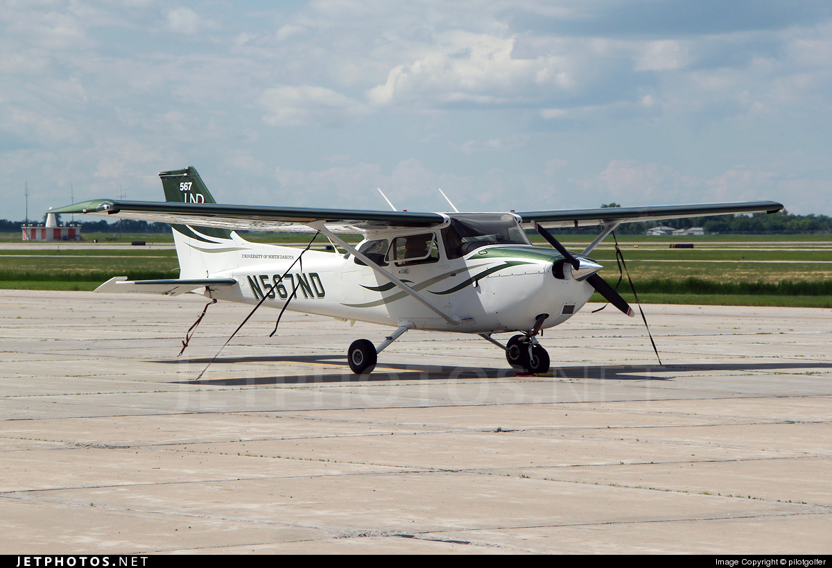 N567ND - Cessna 172S Skyhawk SP - University Of North Dakota
