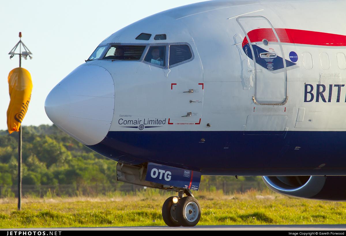 ZS-OTG - Boeing 737-436 - British Airways (Comair)