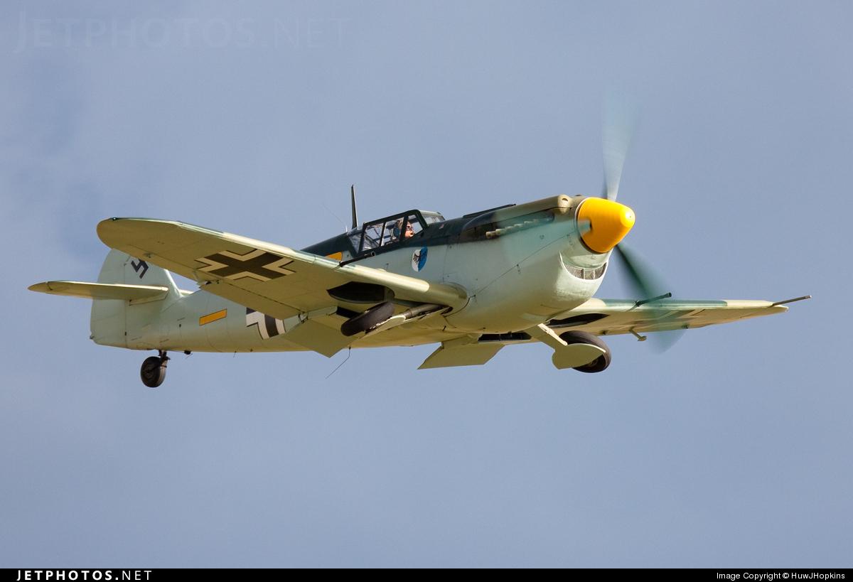 G-BWUE - Hispano HA-1112 MIL - Private