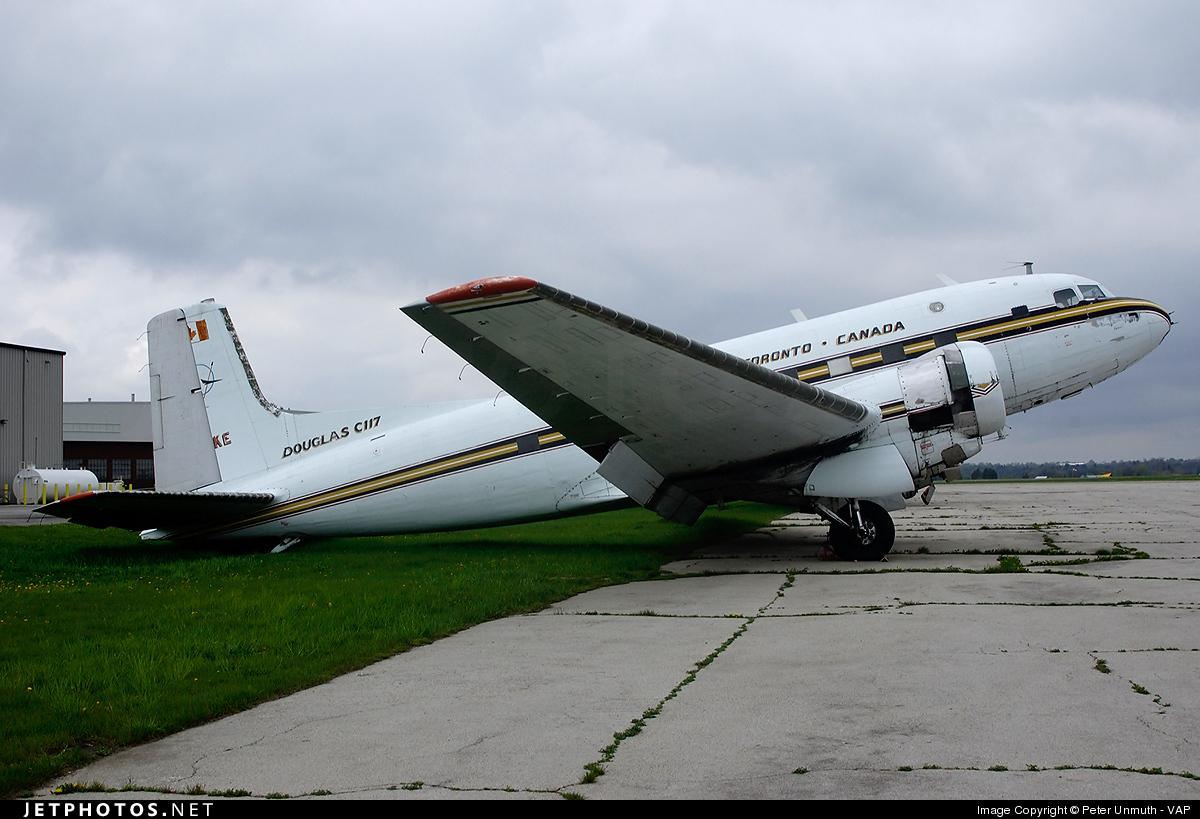 C-GGKE - Douglas DC-3 - Millardair