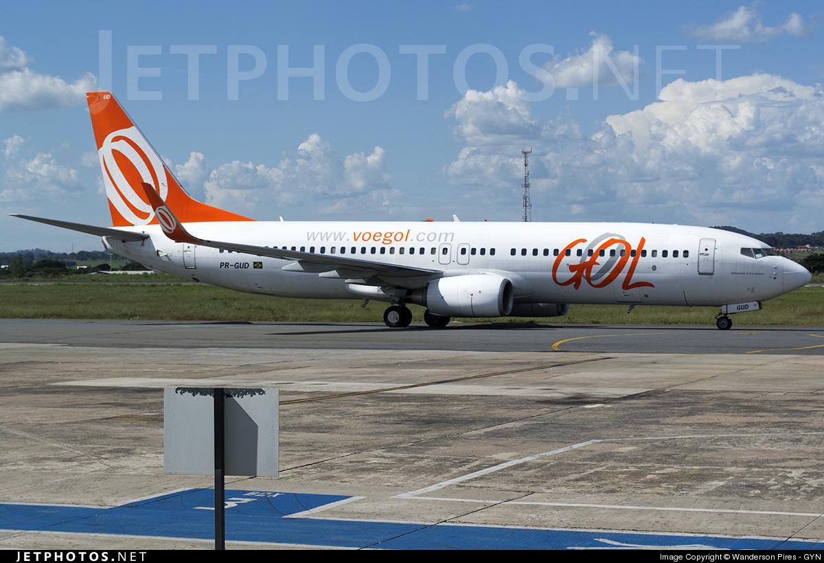 PR-GUD - Boeing 737-8EH - GOL Linhas Aereas