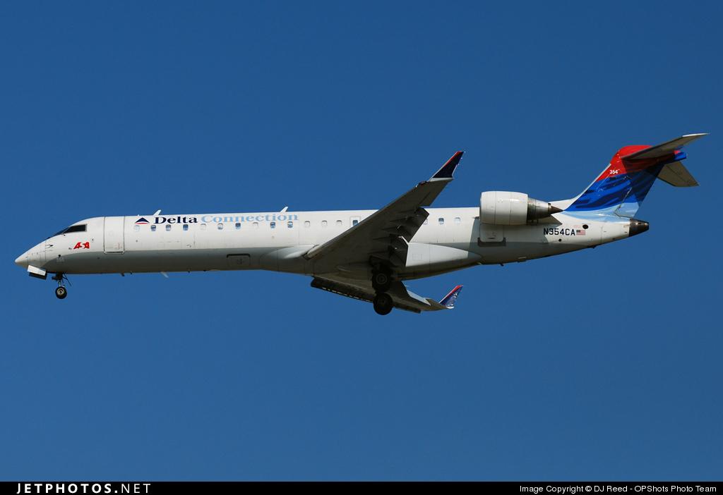 N354CA - Bombardier CRJ-701ER - Delta Connection (Atlantic Southeast Airlines)