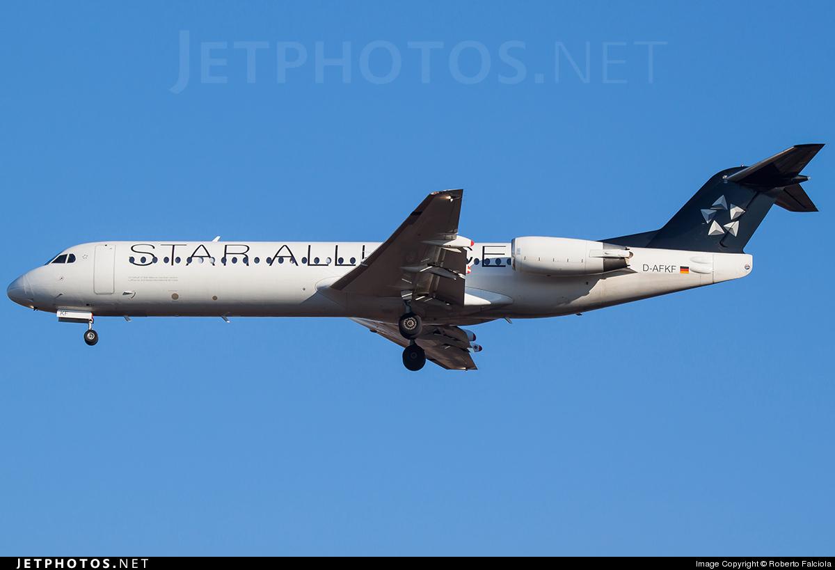 D-AFKF - Fokker 100 - Contact Air