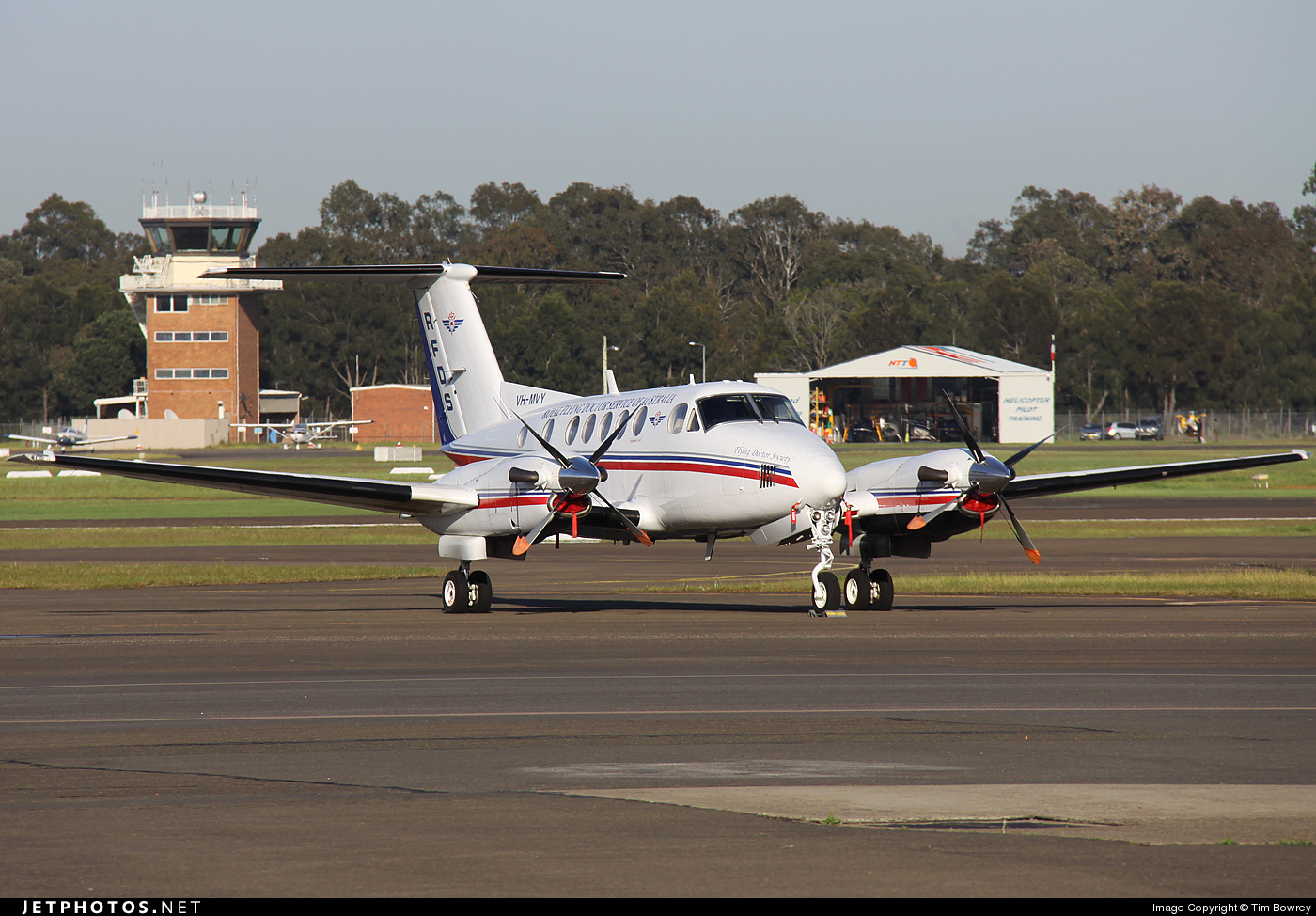 VH-MVY - Beechcraft B200 Super King Air - Royal Flying Doctor Service of Australia (SE Section)