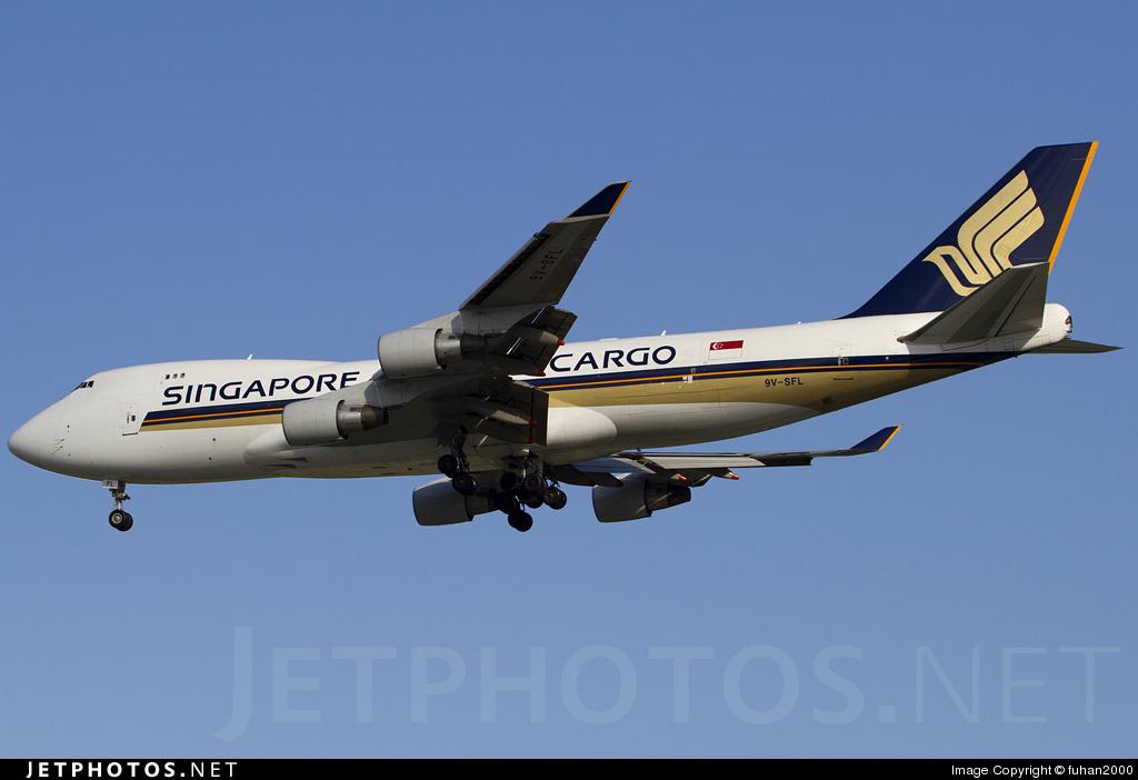 9V-SFL - Boeing 747-412F(SCD) - Singapore Airlines Cargo