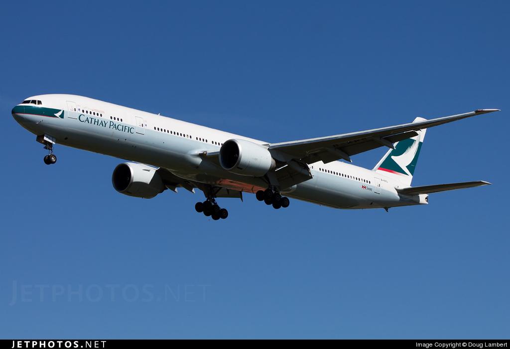 B-KPS - Boeing 777-367ER - Cathay Pacific Airways