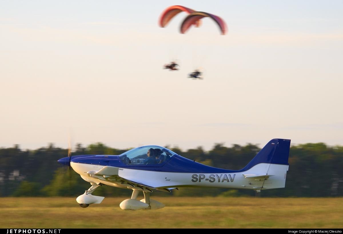 SP-SYAV - Fk-Lightplanes FK-14 912S  - Private