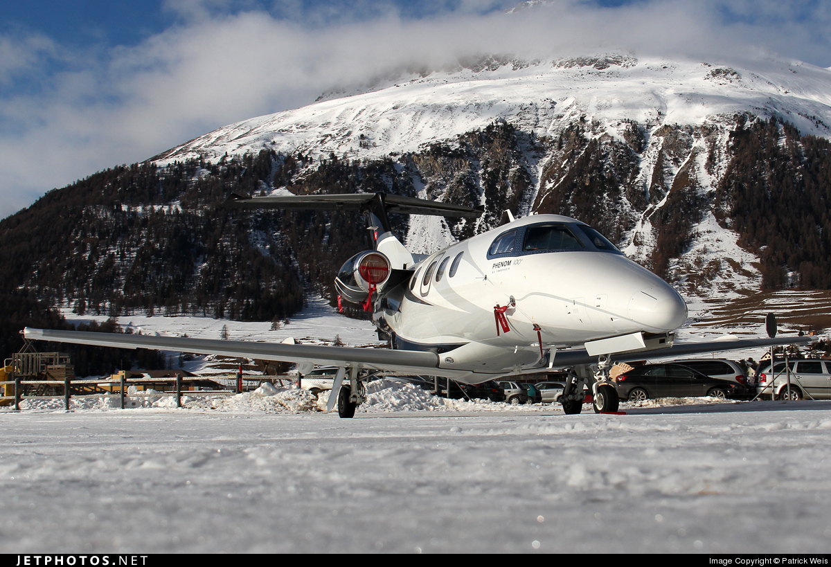 HB-VRV - Embraer 500 Phenom 100 - Private