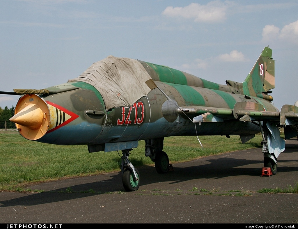 3213 - Sukhoi Su-22M4 Fitter K - Poland - Air Force