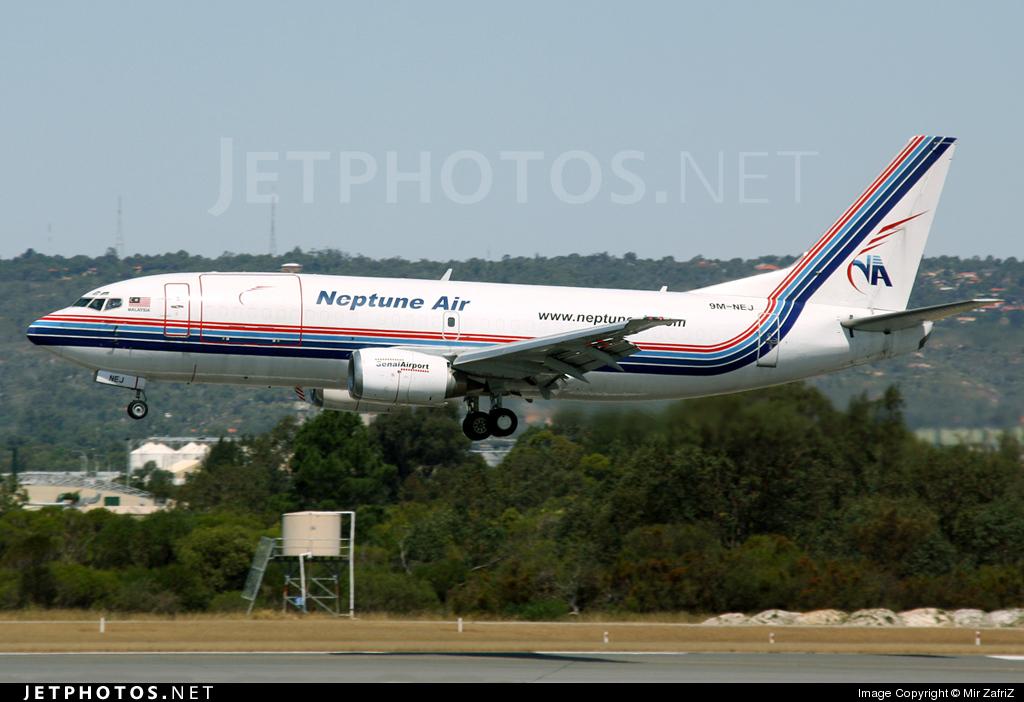 9M-NEJ - Boeing 737-3Z0(SF) - Neptune Air