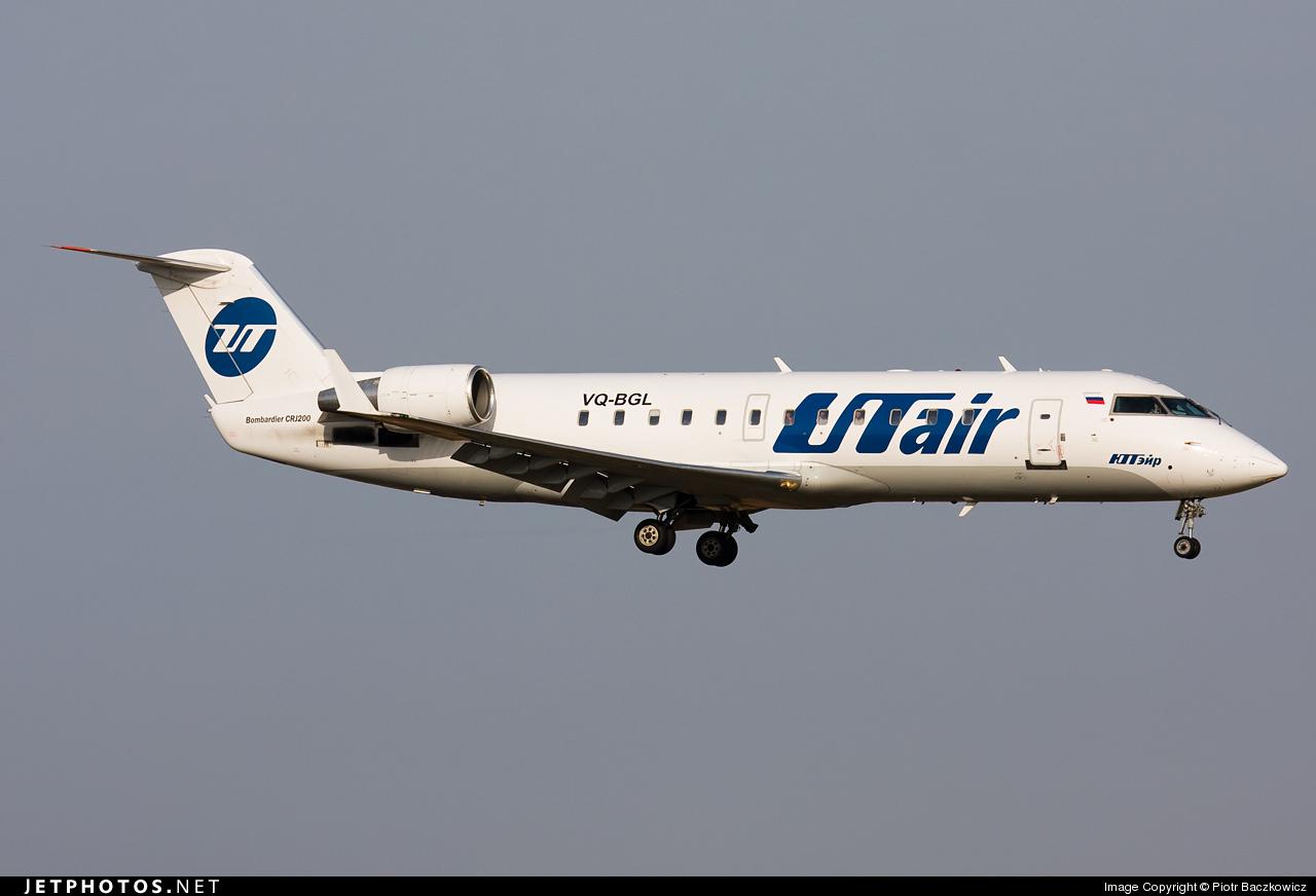 VQ-BGL - Bombardier CRJ-200LR - UTair Aviation