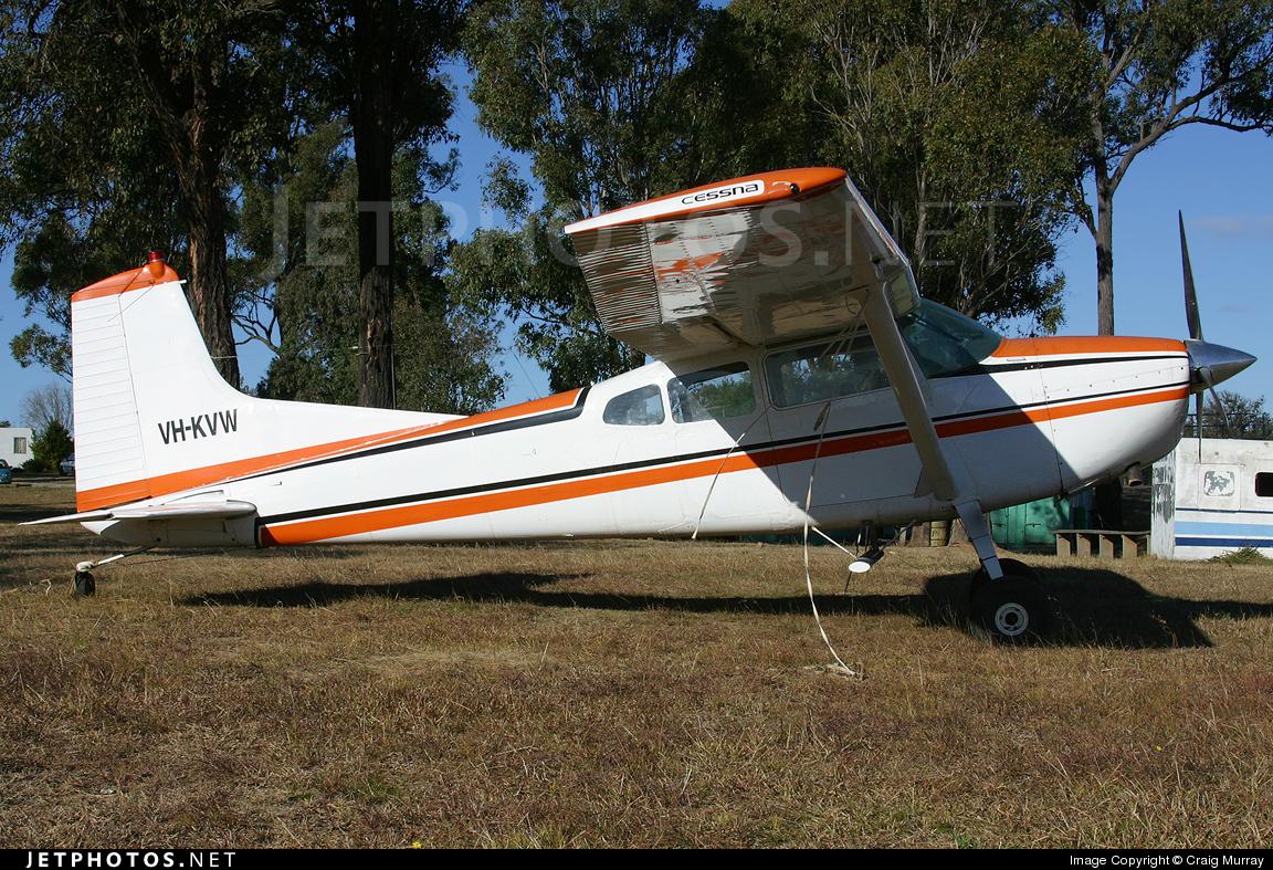 VH-KVW - Cessna 185A Skywagon - Private
