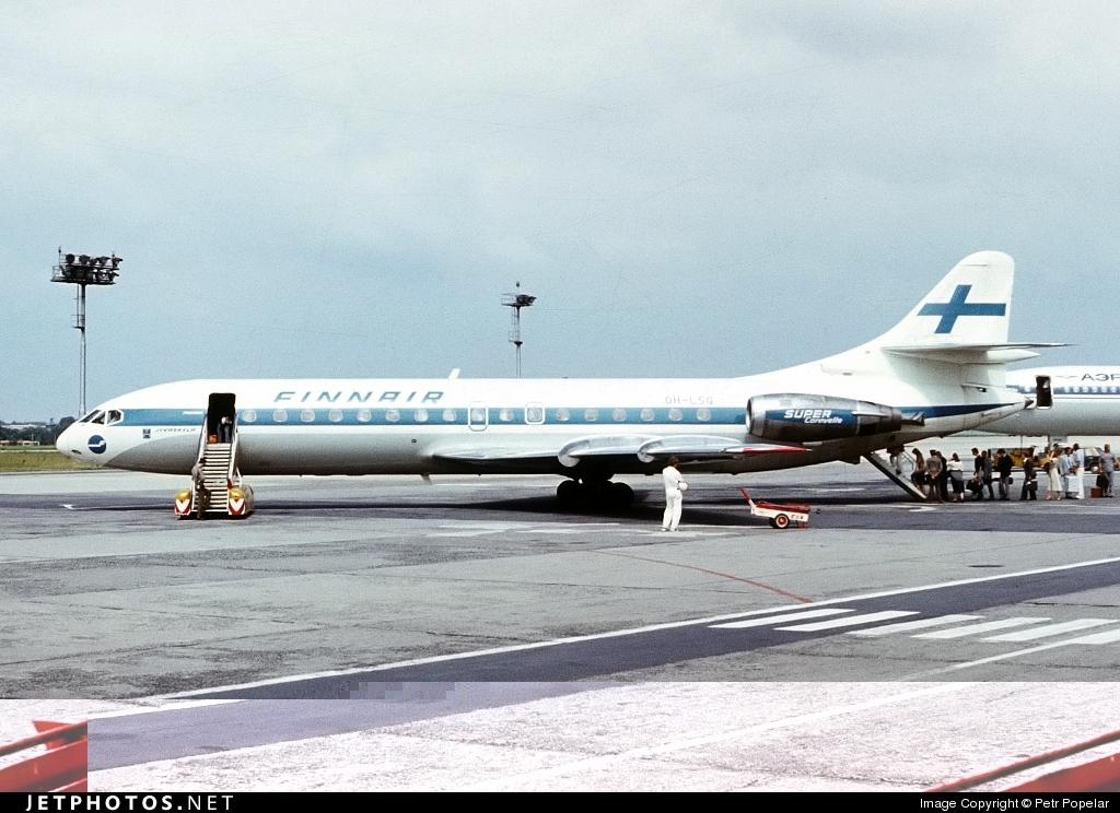OH-LSG - Sud Aviation SE 210 Caravelle 10B3 - Finnair